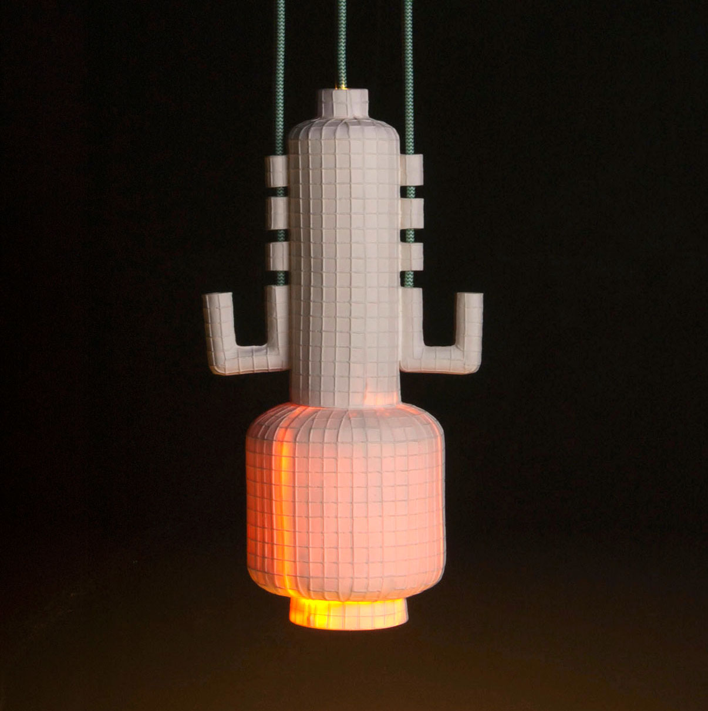 Lampe «Squared» N°3