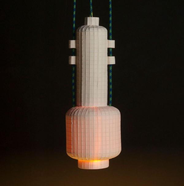 Lampe «Squared» N°2